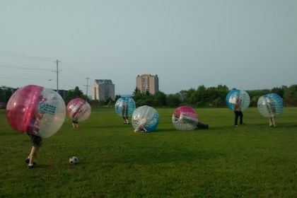Scouts Canada Bubble Soccer Halifax