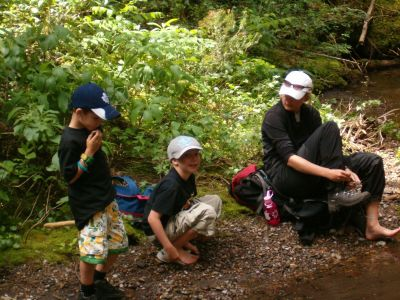 Scouts Canada Camp Gardner Hiking