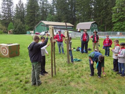 Scouts Canada Field Leadership Session