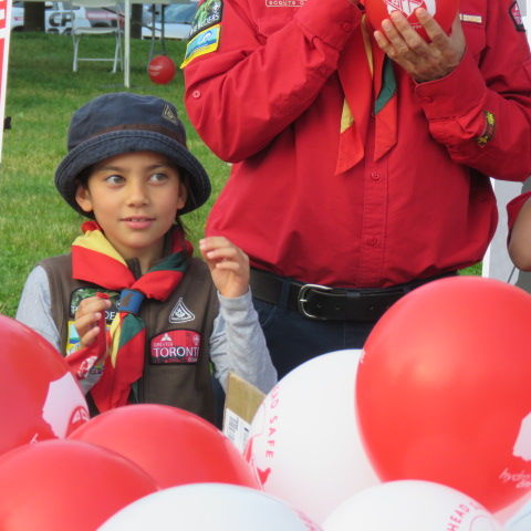 Scouts Canada Head Safe Program Launch, June 19, 2019