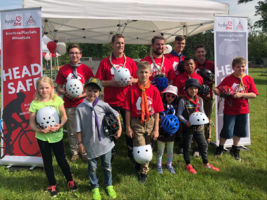 Hydro One and Scouts Canada launch Head Safe initiative