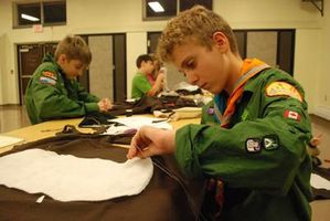 Scouts Sew Their Own Costumes for Local Holiday Parade