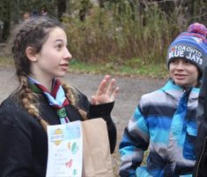 Scouts Host Local Food Drive