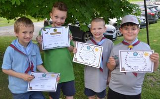 Scouting Youth Win Section Awards