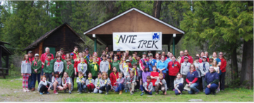 25 years of Nite Trek for West Kootenay Scouts, Guides