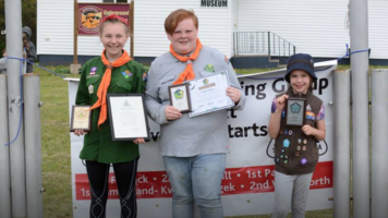 Springhill scouts hit top awards trifecta