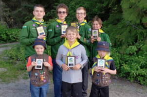 Beaver Valley Scouts awarded for hard work