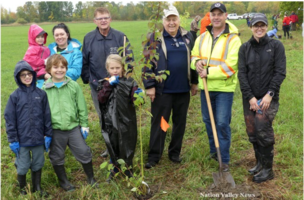 Over 150 trees planted at Camp Sheldrick for TD Tree Days
