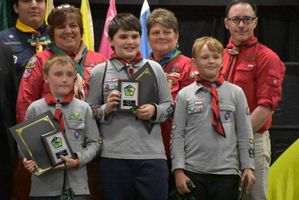 Scouting Youth and Girl Guides Awarded in Yarmouth