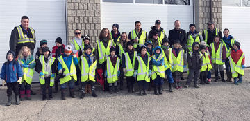 Scouts Help to Clean Up Woodstock