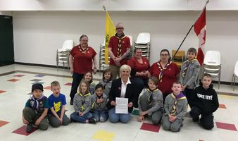 Local Scouts celebrate Scouts Week
