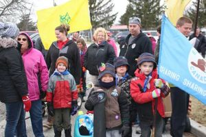Scouting Youth Host Hike for Hunger
