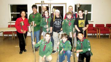Scouts to hold torchlight parade through Gibsons