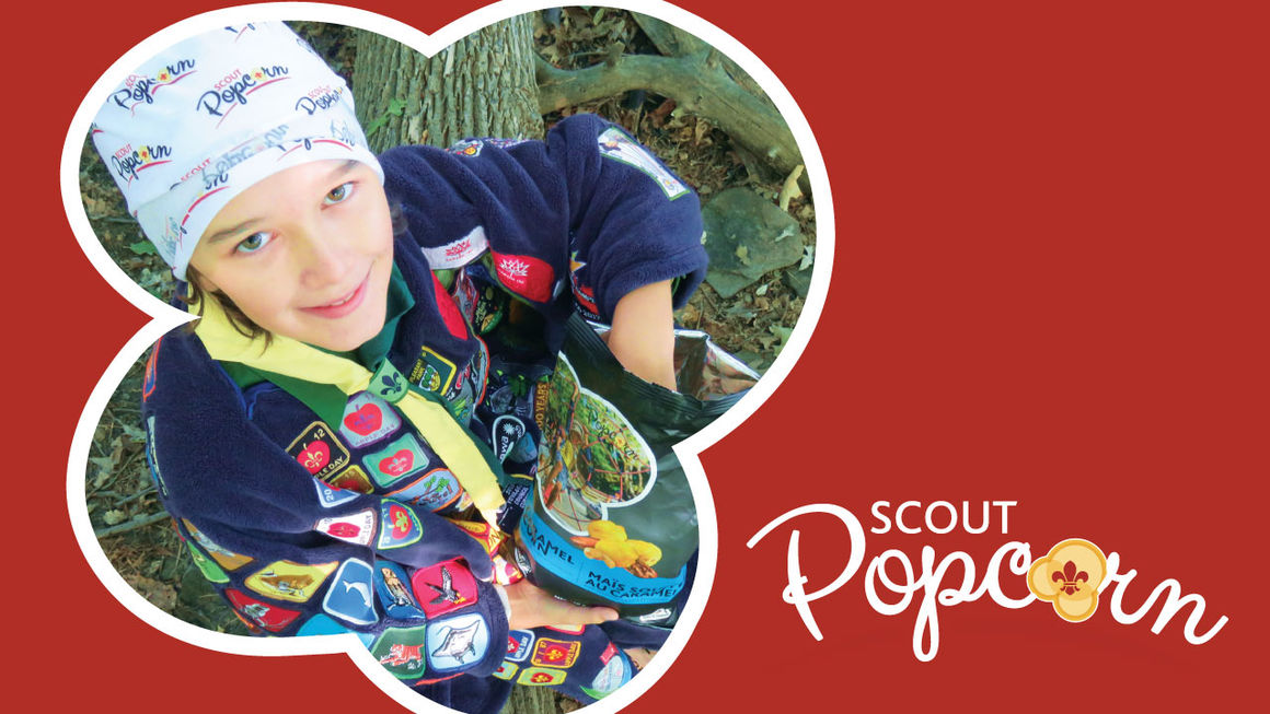 Great Adventures Start with Scout Popcorn