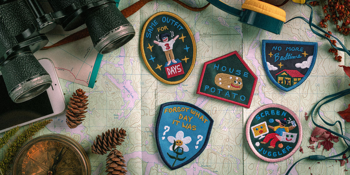 Scouts Canada Pandemic Badges