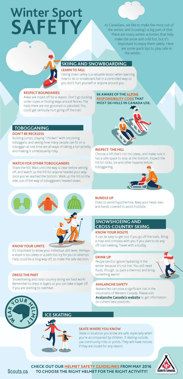 Winter Sport Safety - January Safety Tip