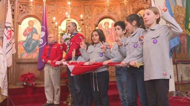 51 new Scouts took the oath Sunday at Saints Peter and Paul Melkite Catholic Church