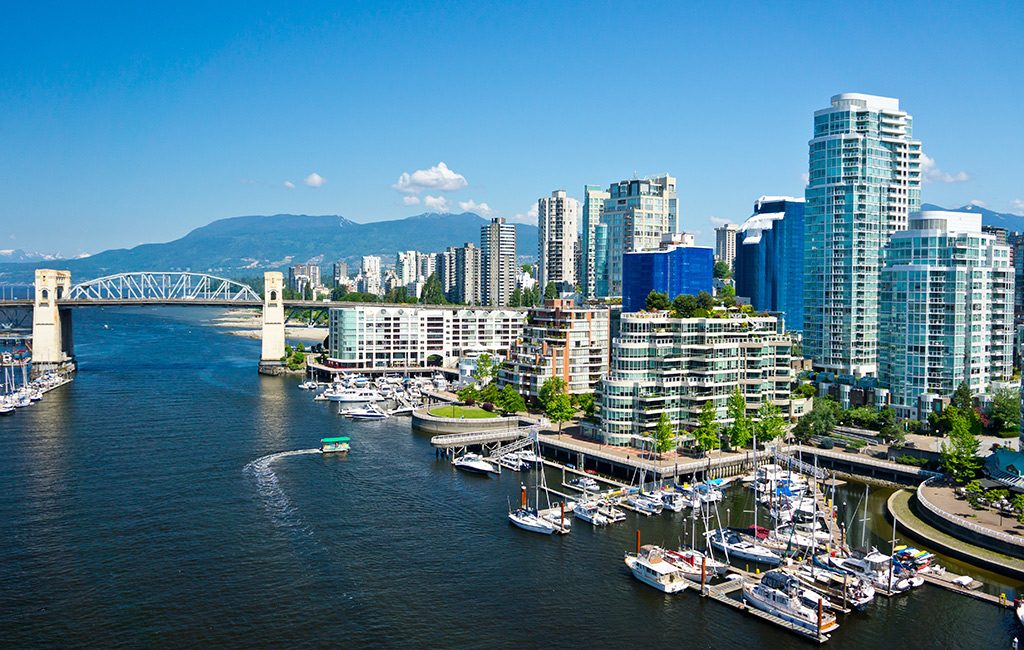 View of Vancouver, BC