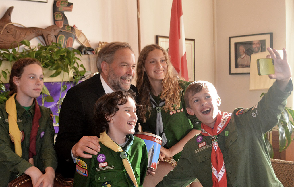 My Day on Parliament Hill - Meeting with Tom Mulcair