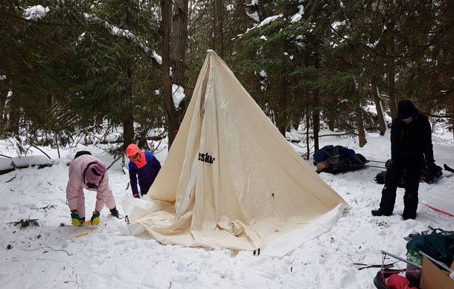 Winter Camping - 5th Unionville