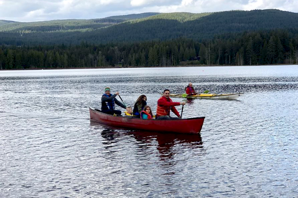5 Places in Canada for great paddling adventures