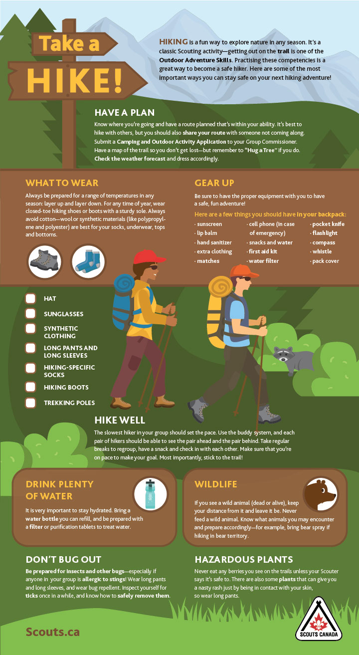 Take a Hike Safety Tip